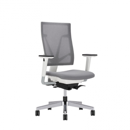 Office armchair / contemporary / adjustable-height / high-back